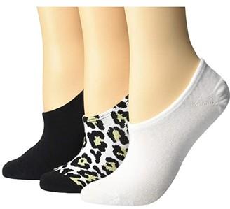 Converse Heritage Leopard 3-Pair Pack MFC (Leopard Multi) Women's Crew Cut Socks Shoes