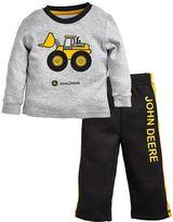 John Deere Baby Boy Graphic Tee & Fleece Pants Set