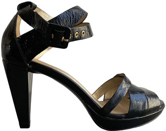 Pierre Hardy Black Patent leather Sandals