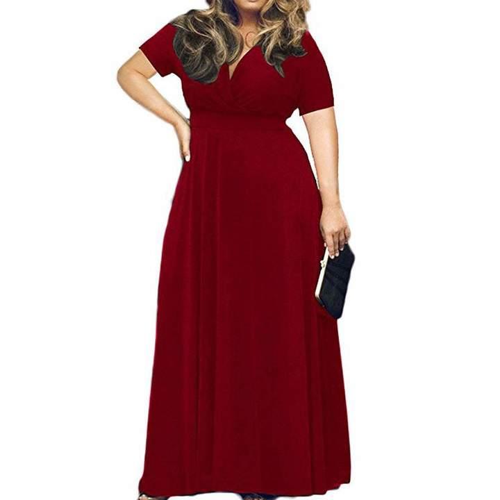 fae22c5b69b Deep V Neck Maxi Dress - ShopStyle Canada