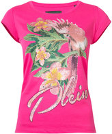 Philipp Plein floral print T-shirt - women - Cotton - XS