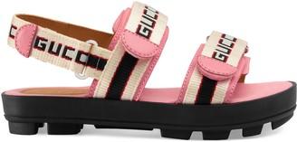 Gucci Children's stripe sandal