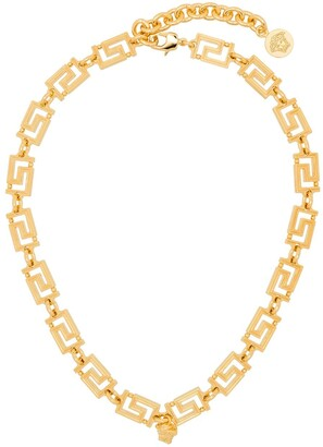 Versace Greca Medusa detail necklace