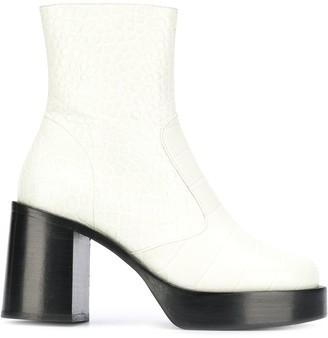 Simon Miller Platform Ankle Boots