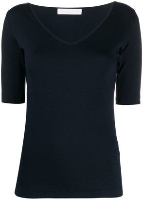 Fabiana Filippi short-sleeve fitted T-shirt
