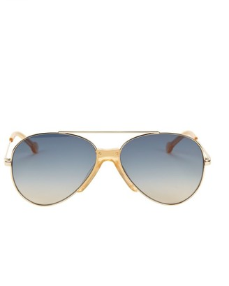 Colors In Optics Brasco 61MM Aviator Sunglasses
