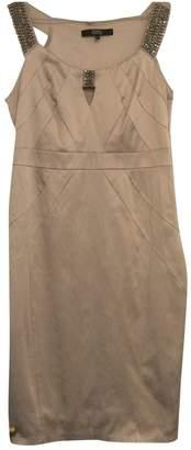 Julien Macdonald Julien Mac Donald Beige Cotton - elasthane Dress for Women