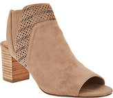 Yellow Box Modesty Peep Toe Cut Out Booties