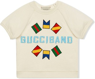 Gucci Kids logo detail T-shirt