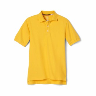 French Toast Men's Big Boys' Short Sleeve Pique Polo Shirt