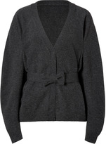 Viktor & Rolf Wool Cardigan in Anthracite