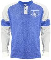Stitches Men's Los Angeles Dodgers Raglan Henley