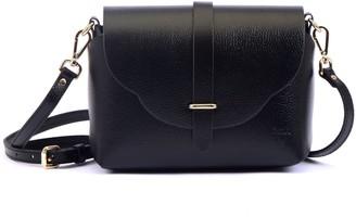 Atelier Hiva Midi Harmonia Leather Bag Black