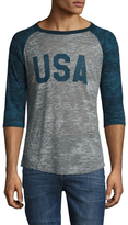 Alternative Apparel Big League Burnout Raglan T-Shirt