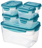 AmazonBasics Air-Locked 6-Piece Food-Storage Set