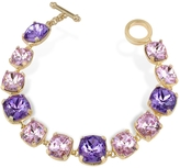A-Z Collection Amethyst Crystal Bracelet