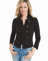 White House Black Market Bracelet Sleeve Seasonless Black Jacket