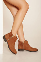 Forever 21 FOREVER 21+ Zippered Ankle Boots