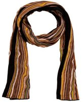 M Missoni Striped Fring Scarf