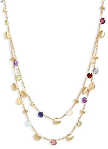 Marco Bicego Paradise Semiprecious Stone Double Strand Necklace