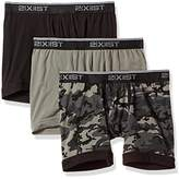 2xist Men's Essential Cotton 3 Pack Fly Front Brief