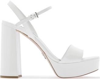 Prada Ankle Strap Sandals
