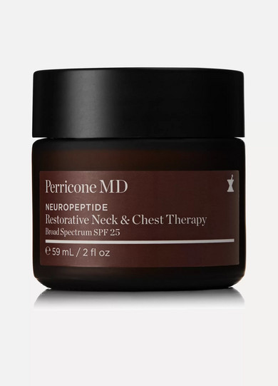 N.V. Perricone Neuropeptide Restorative Neck & Chest Therapy Spf 25, 59ml - Colorless