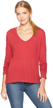 LAmade Women's Relax Fit Long Sleeve Boxy Top
