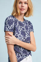 Anthropologie Forget-Me-Not Top