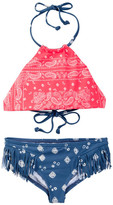 Billabong Bandana Rama High Neck Two-Piece Reversible Swimsuit (Little Girls & Big Girls)