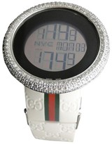 Gucci YA114214 Genuine 12 Ct Diamond XL Bezel Mens Watch