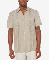 Cubavera Men's Raised-Panel Embroidered Shirt
