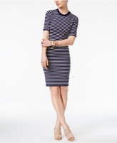 MICHAEL Michael Kors Striped Shirtdress