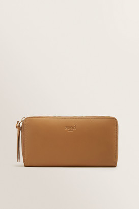 Seed Heritage Leather Zip Around Wallet