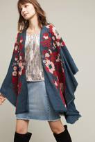 Anthropologie Folk Tale Embroidered Kimono