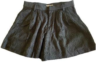 Tsumori Chisato Black Cotton Shorts for Women