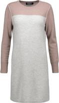 Magaschoni Two-tone cashmere mini dress