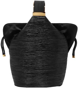 BIENEN-DAVIS Bienen Davis Kit Mini Satin-trimmed Lurex Bucket Bag