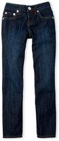 True Religion Boys 4-7) Big Stitch Straight Leg Jeans
