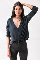 BDG Blake V-Neck Pocket Pullover Sweater
