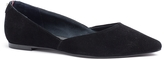 Tommy Hilfiger Suede D'orsay Flat