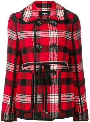 DSQUARED2 madras jacket