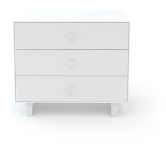 Oeuf Rhea 3 Drawer Dresser Color: White