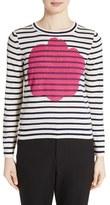 Comme des Garcons Women's Rose Stripe Sweater