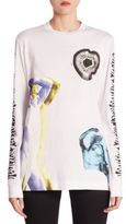 Proenza Schouler Printed Cotton Pullover
