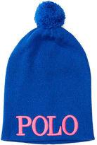 Ralph Lauren 2-6X Embroidered Knit Hat
