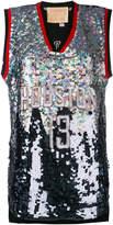 Night Market Huston embroidered NBA tank