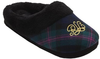 Lauren Ralph Lauren Green Plaid Comfy Slipper