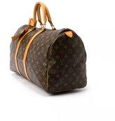 Louis Vuitton Pre-Owned: brown monogram canvas 'Keepall 45' bag