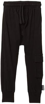 Nununu Light Cargo Pants (Infant/Toddler/Little Kids) (Black) Boy's Casual Pants